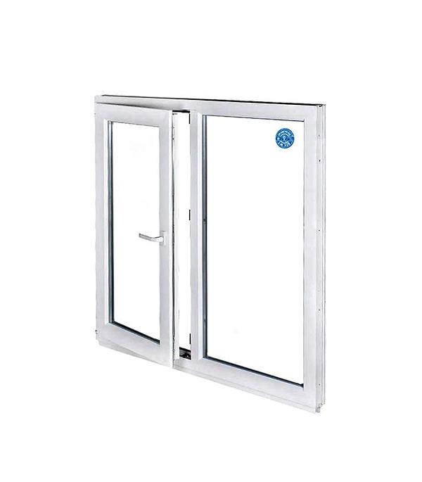 Окно металлопластиковое белое 1440х1450 мм поворотно-откидное левое
