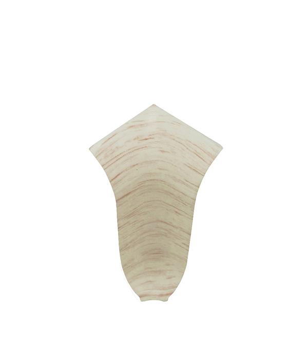 УголвнутреннийNexus 58 ммдубполярный(2 шт) плинтус пвх royal 76мм дуб светло серый 2 5м