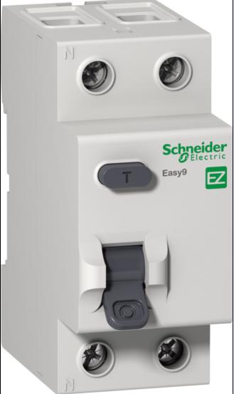 УЗО 2P, 40А, 30мA, Schneider Electric, Easy9