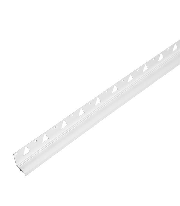 Бордюр для ванны (под плитку) 20х20 мм 1,8 м белый