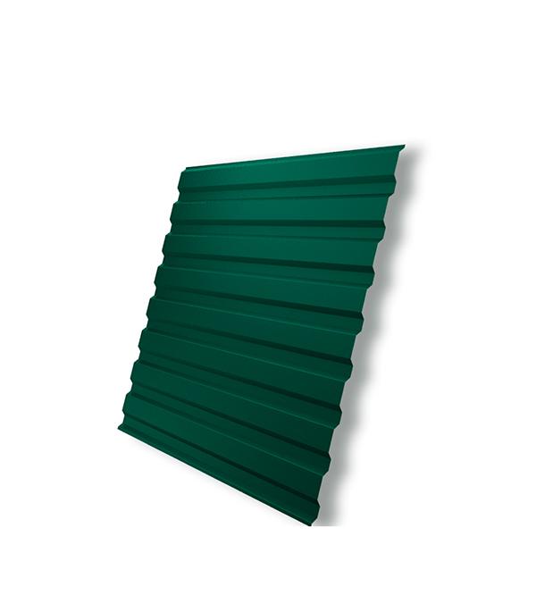 Профнастил С20 1.15х2.00 м толщина 0.5 мм зеленый RAL 6005 профнастил под дерево харьков