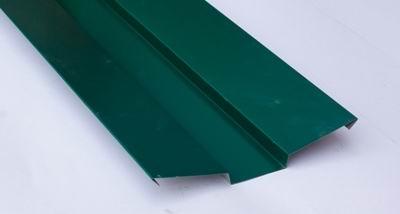 Ендова внешняя для металлочерепицы 2 м зеленая RAL 6005