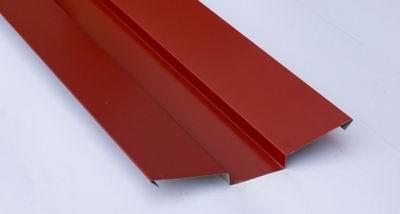 Ендова внешняя для металлочерепицы 2 м красная RAL 3009