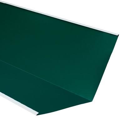 Ендова внутренняя для металлочерепицы 2 м зеленая RAL 6005