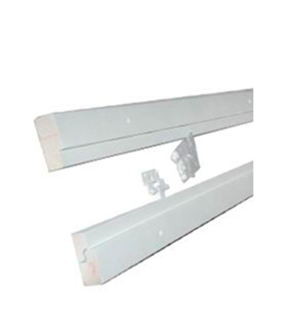 Коробка дверная окрашенная белая М9х21 92х42х2090 мм