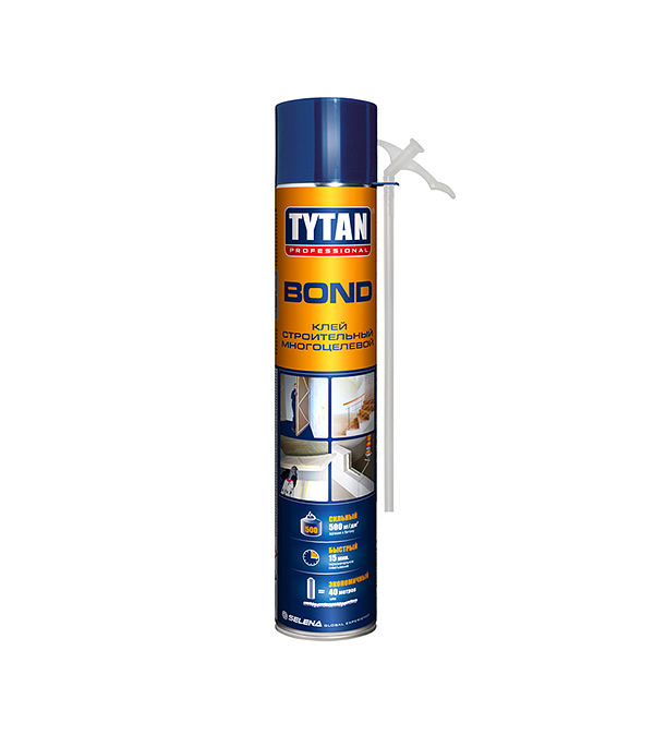 Клей строительный многоцелевой Tytan Bond Straw 750 мл