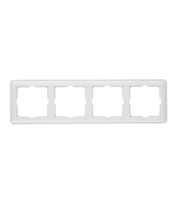 Рамка четырехместная Schneider Electric Wessen 59 белая фонарь maglite 2d серебристый 25 см в блистере 947202