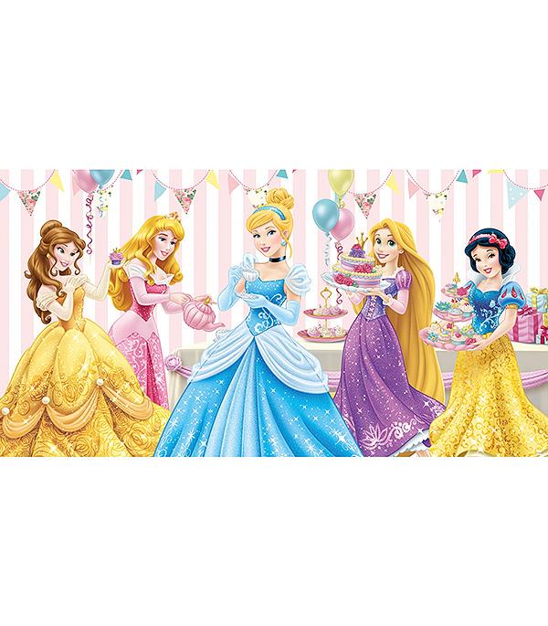 Фотообои 2,5х1,3 м 1 лист Disney Принцессы арт. 830108 OVK Design