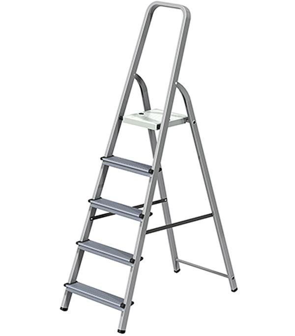Стремянка комбинированная 5 ступени Новая высота Эконом