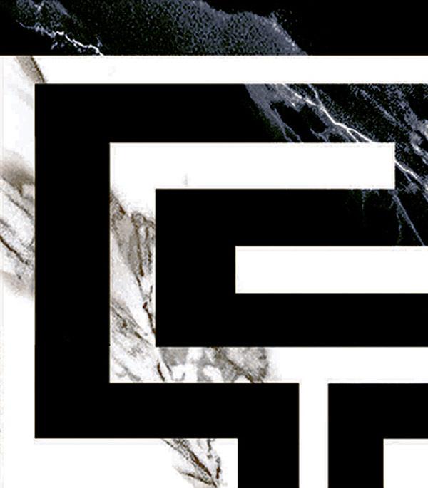 Керамогранит декор 70х70х9 мм Classic Marble/Грасаро