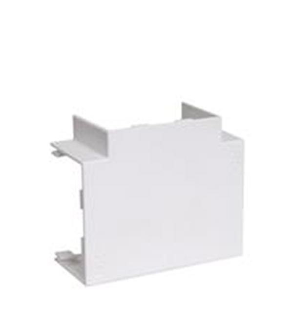 Угол Т-образный для кабель-канала  20x10 мм белый