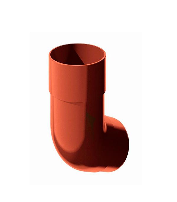 Колено трубы пластиковое d90 мм 135° красное Технониколь