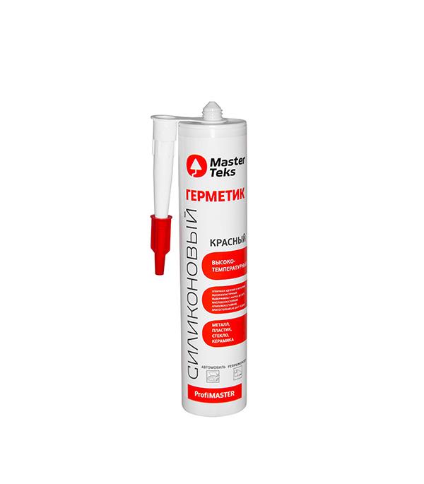 Герметик силиконовый высокотемпературный Мастертекс T 260 мл красный