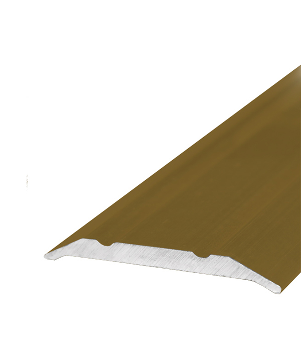Порог стыкоперекрывающий 25х1800 мм Золото шарики прокладки железные круглые золото 5 мм диаметром отверстие 2 мм