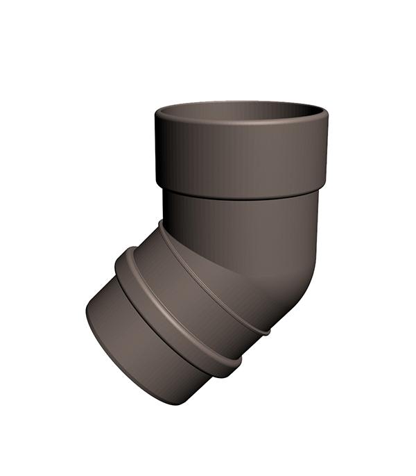 Колено трубы пластиковое d100 мм 45° шоколад, DOCKE LUX заглушка желоба grand line универсальная красное вино металлическая