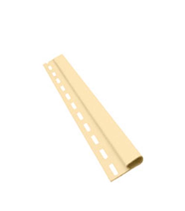 Планка финишная Vinyl-On 3660 мм шампань  сайдинг vinyl on софит с центральной перфорацией 3660х305 мм белый