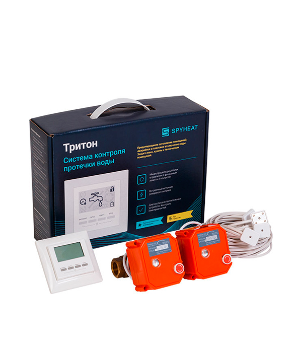 Система контроля протечки воды ТРИТОН 3/4 цена
