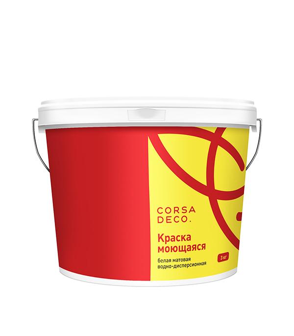 Краска в/д моющаяся Лира  3 кг