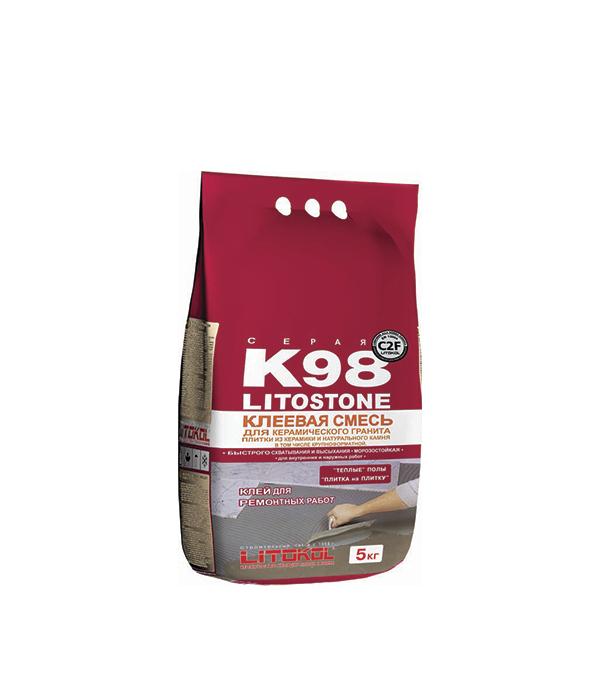 Литостоун К98 (клей для камня быстротвердеющий), 5кг
