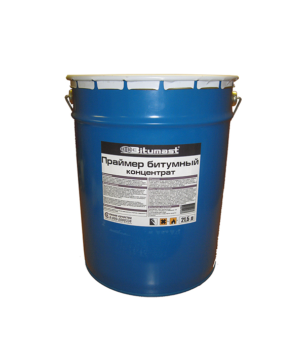 Праймер битумный концентрат Bitumast 18 кг/ 21,5 л