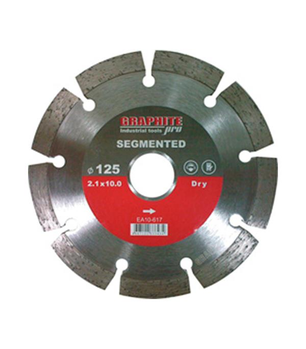 Диск алмазный сегментный  по бетону 115х22,2 мм Graphite Pro Стандарт