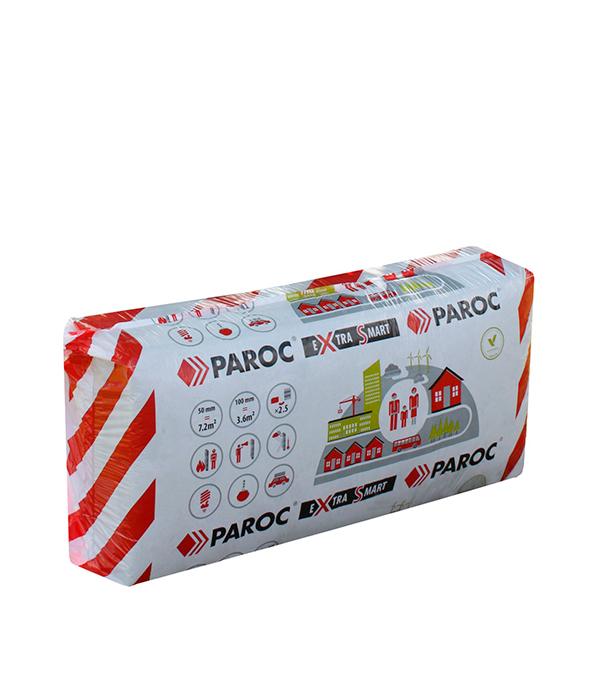 Утеплитель PAROC eXtra Smart 1200х600х100 мм 3.6 кв.м экструдированный пенополистирол пеноплэкс скатная кровля 1200х600х100 мм п