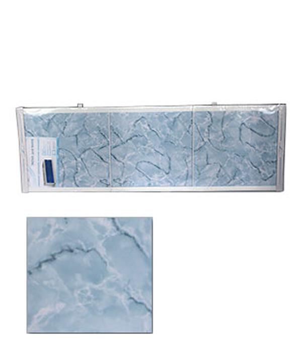 Экран для ванн Оптима пластик голубой мороз 1500 мм