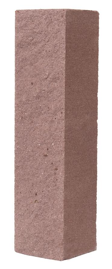 Кирпич  лицевой силикатный коричневый полнотелый