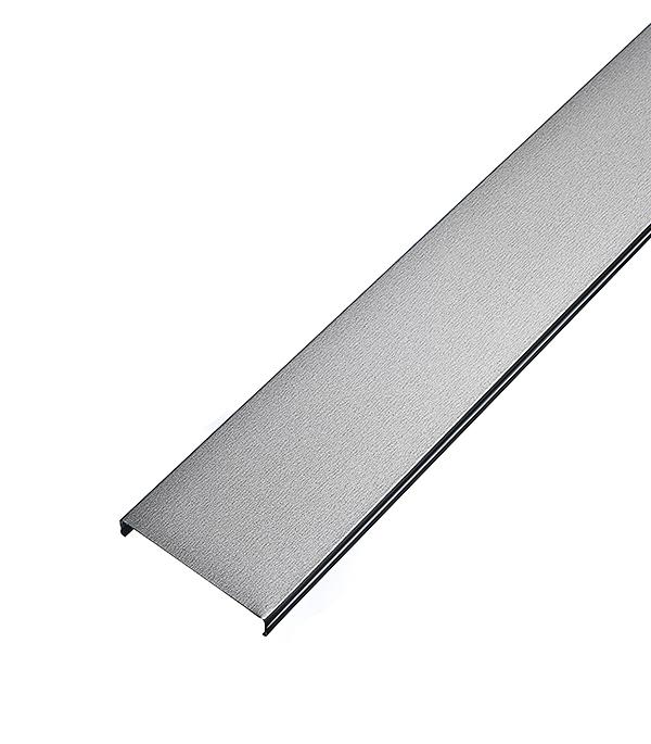 Рейка открытого типа AN 85А 3 м серебристый металлик гребенка аn85 135а втn 4м
