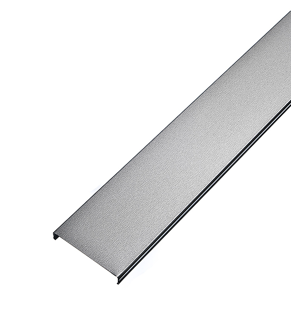 Рейка открытого типа AN 85А 4 м серебристый металлик гребенка аn85 135а втn 4м