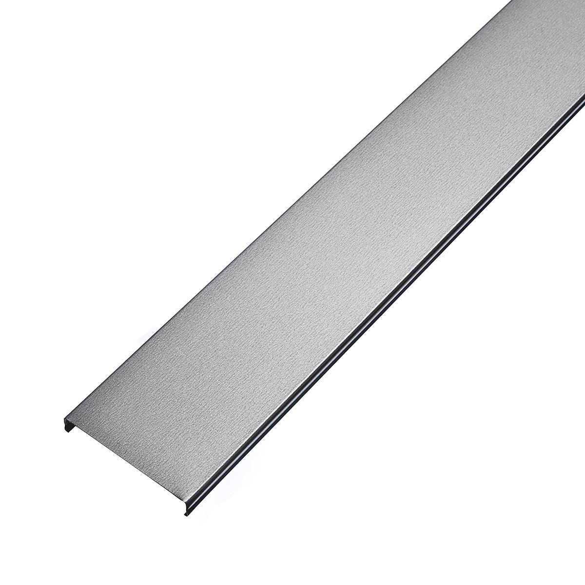 Рейка открытого типа AN 85А 4м серебристый металлик