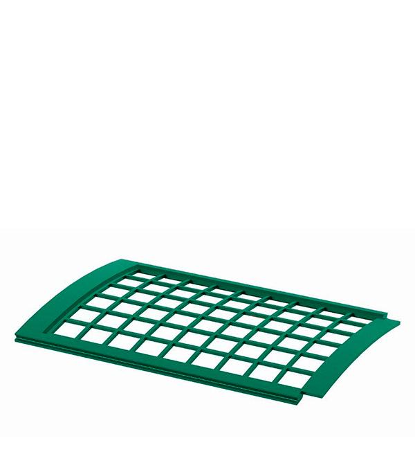 Решетка желоба защитная зеленая Технониколь