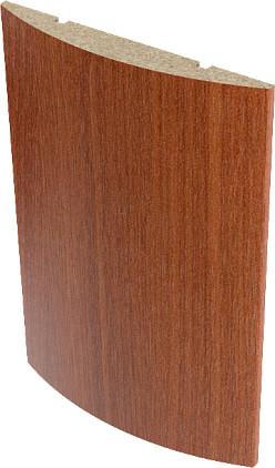 Наличник ламинированный полукруглый Верда Итальянский орех 10х70 мм