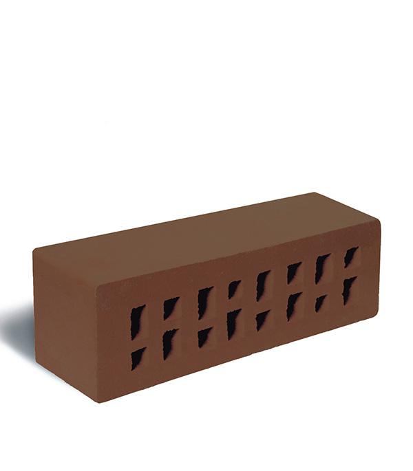 Кирпич фасадный клинкерный 250х85х65 мм  коричневый