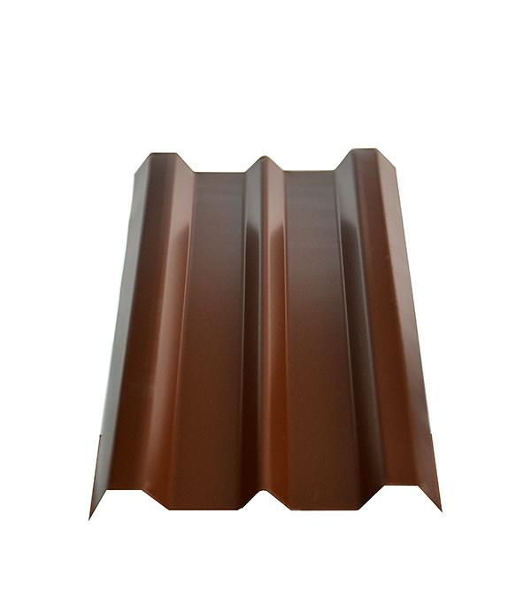 Евроштакетник 100х1800мм, толщина 0,4 мм коричневый