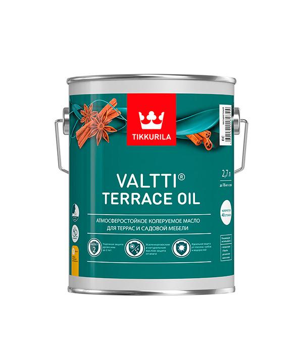 Масло для террас Valtti Terrace Oil EC Тиккурила 2,7 л антисептик valtti puuoljy основа ec тиккурила 2 7 л