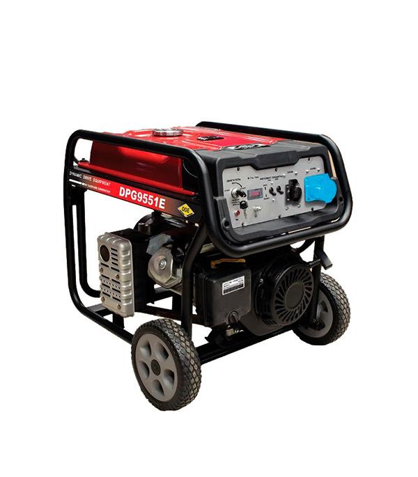Генератор бензиновый 6,5 кВт DDE DPG9551E