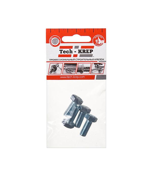 Болты оцинкованные  М8х20 мм DIN 933 (4 шт)