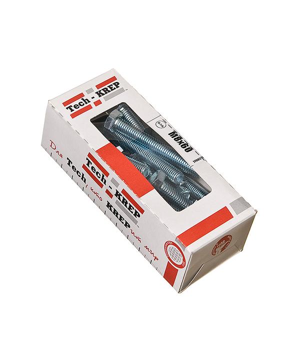Болты оцинкованные М8х60 мм DIN 933 (20 шт) болты оцинкованные м20х60 мм din 933 8 шт