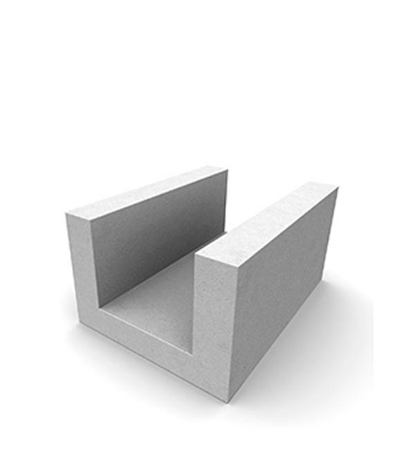Газобетонный блок U-образный, 625х250х300 мм, Н+Н