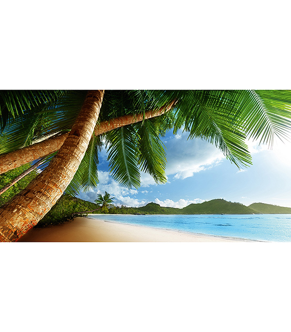 Фотообои 2,5х1,3 м 1 лист Пляж арт. 230070 OVK Design