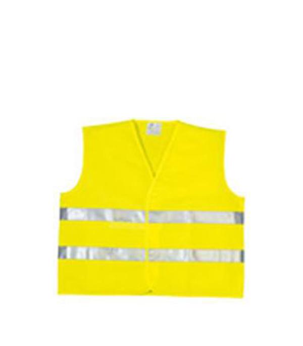 Жилет сигнальный светоотражающий желтый