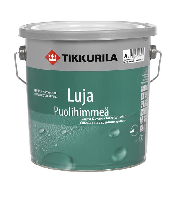 Краска в/д Luja 20 Puolihimmea основа A полуматовая Тиккурила 0,9 л