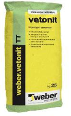 Ветонит ТТ (Вебер.Ветонит) (штукатурка), 25кг
