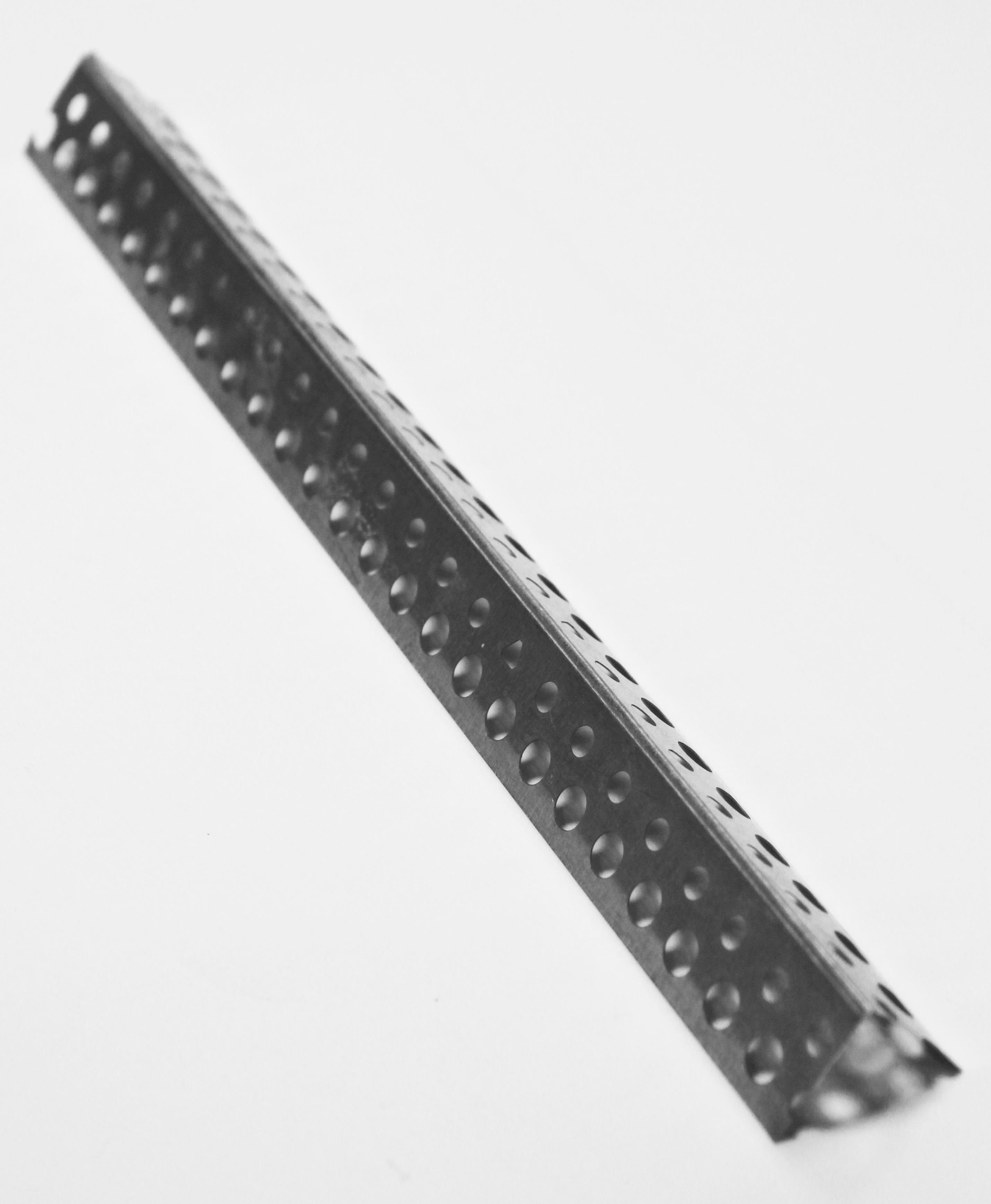 Профиль углозащитный (оцинкованный) 19х19 мм, 3 м Оптима  0,30 мм   (50 шт)