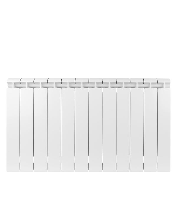 Радиатор биметаллический 1 Global Style Extra 500, 12 секций радиатор отопления global алюминиевые vox r 500 12 секций
