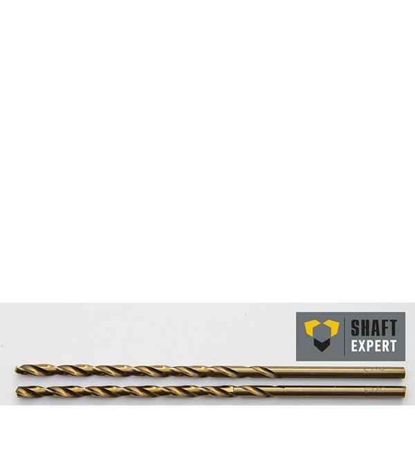 Сверло по металлу  3,5х112 мм, кобальтовое, удлиненное, 2 шт Shaft