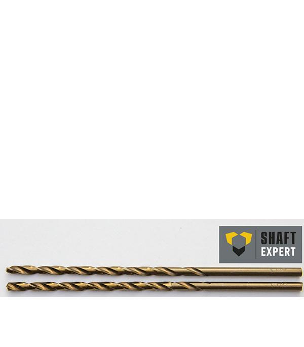 Сверло по металлу 4,0х119 мм, кобальтовое, удлиненное, 2 шт Shaft