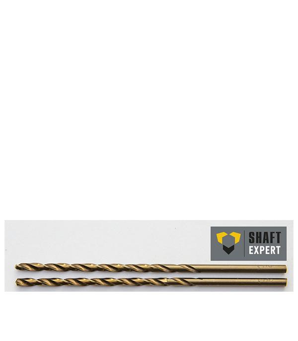Сверло по металлу 4,2х119 мм, кобальтовое, удлиненное, 2 шт Shaft