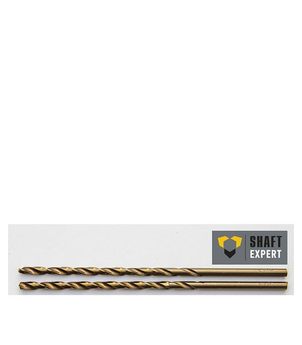 Сверло по металлу  4,5х126 мм, кобальтовое, удлиненное, 2 шт Shaft